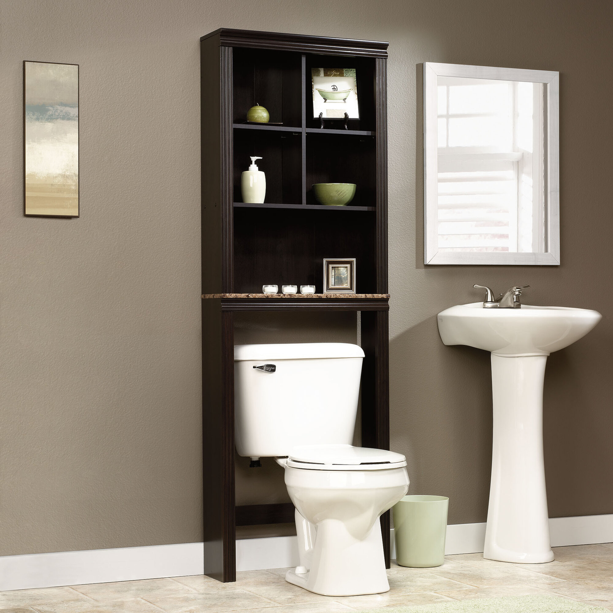 Over The Toilet Bathroom Cabinets  Over The Toilet Storage Bathroom Space Saver Cubby