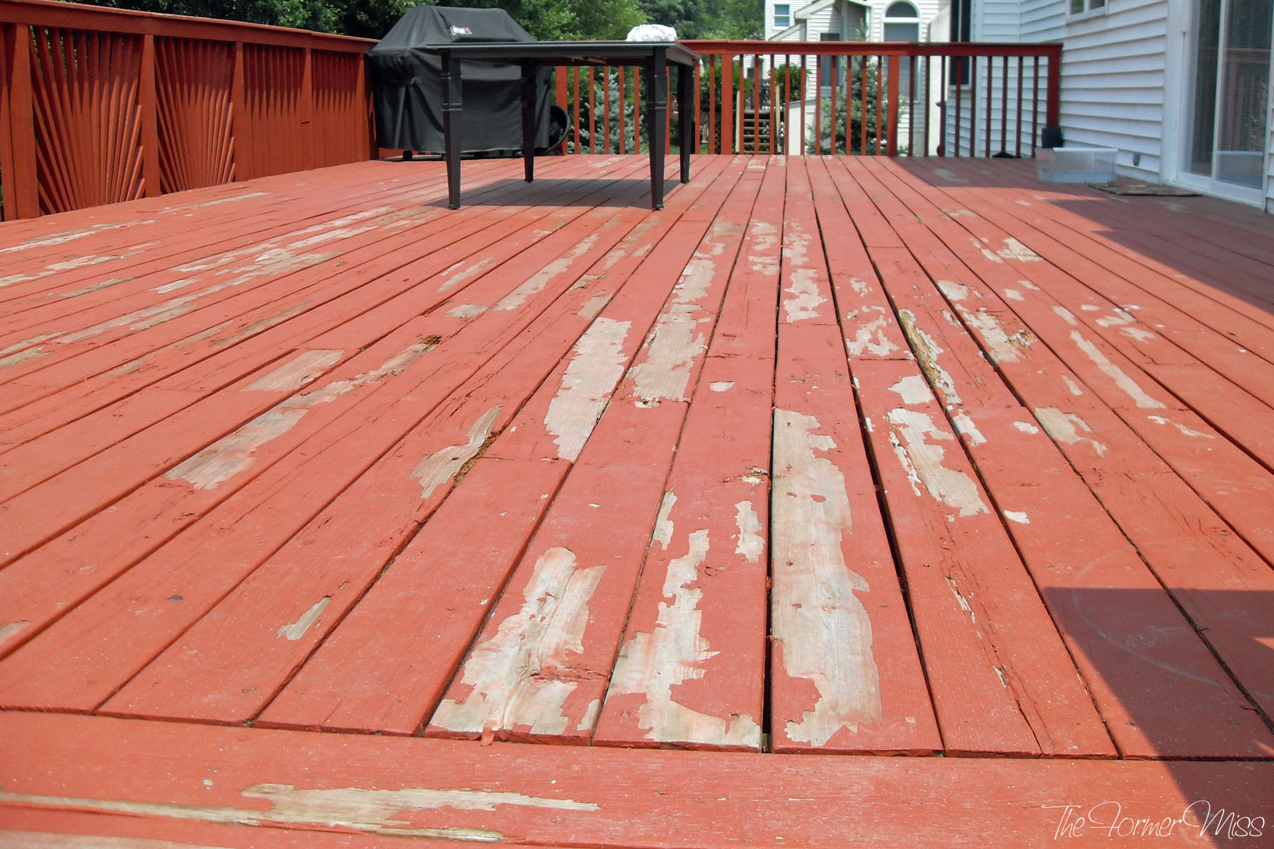 Paint A Deck  A Deck Makeover… part 2 – The Former Miss