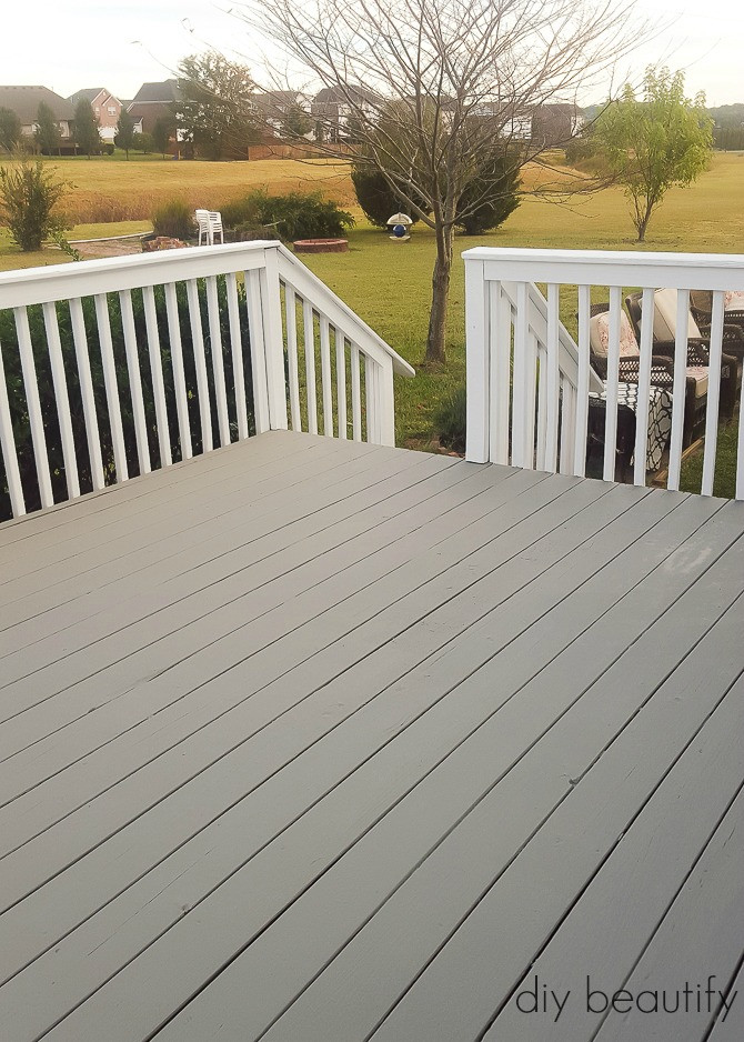 Paint A Deck  How to Update a Deck with Paint