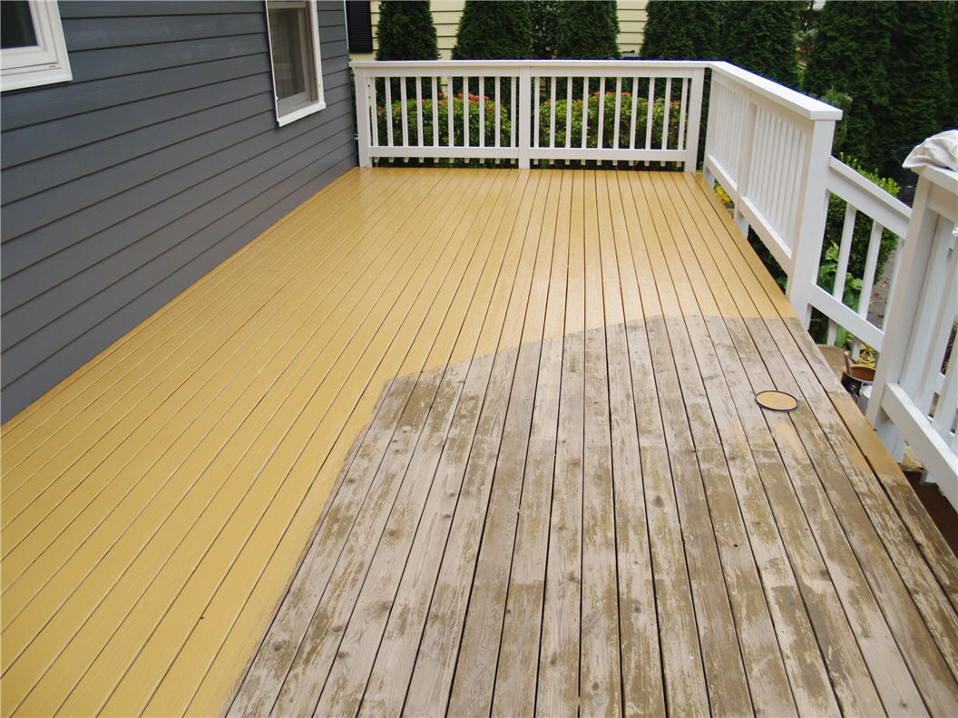 Paint A Deck  Sealants for Protecting Your Deck All American Painting Plus