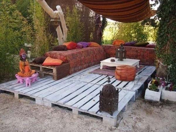 Pallet Backyard Furniture  Top 38 Genius DIY Outdoor Pallet Furniture Designs That