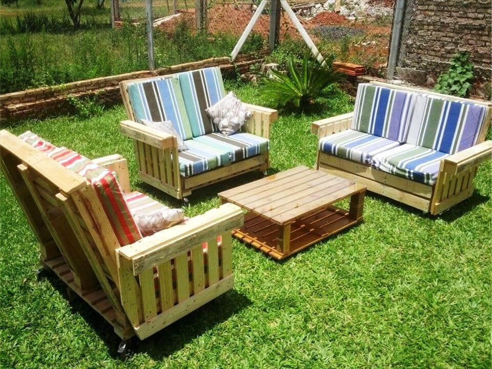 Pallet Backyard Furniture  50 Ultimate Pallet Outdoor Furniture Ideas Easy Pallet Ideas