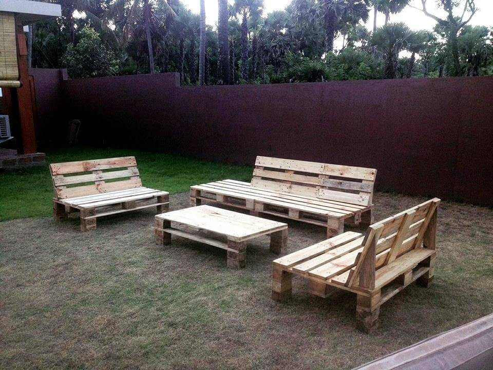 Pallet Backyard Furniture  30 Easy Pallet Ideas for the Home