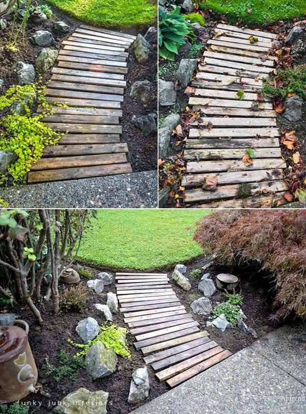 Pallet Backyard Furniture  39 Insanely Smart and Creative DIY Outdoor Pallet