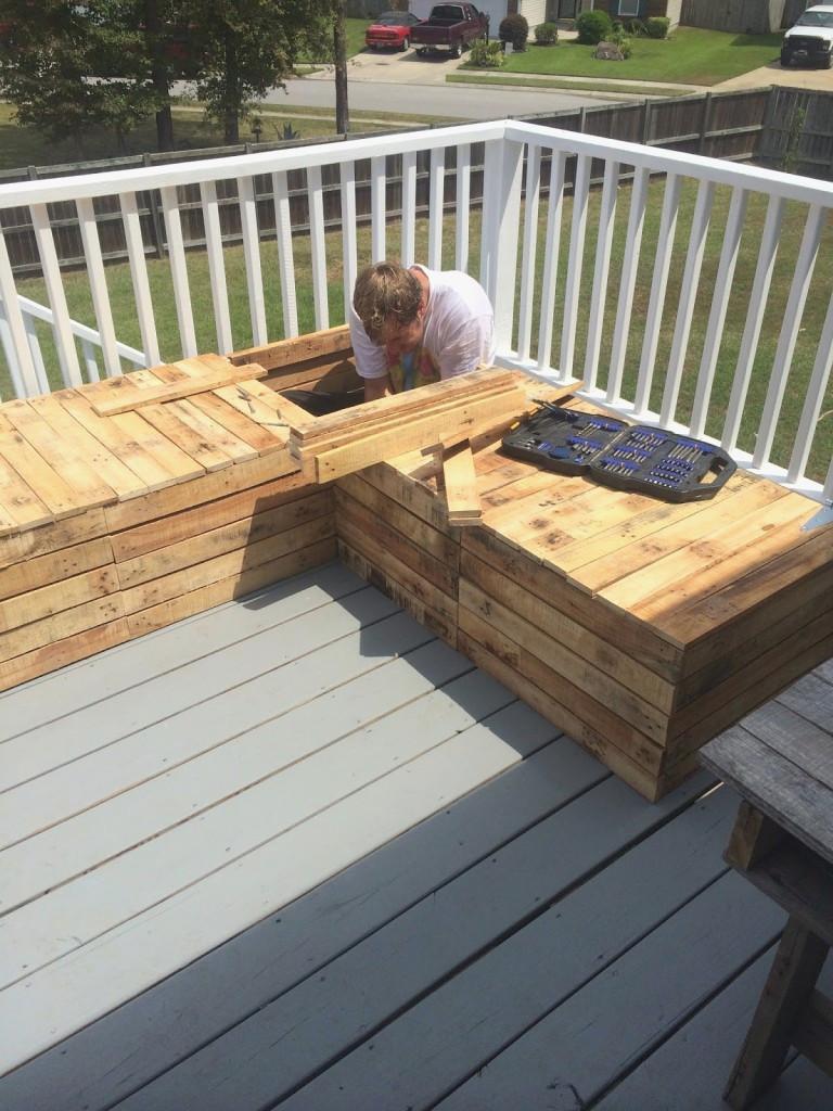 Pallet Backyard Furniture  Pallets Patio Backyard Furniture – recognizealeader