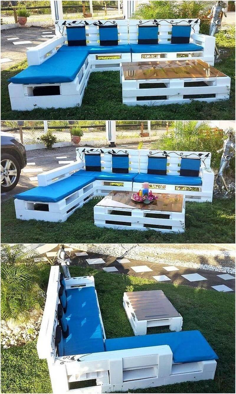 Pallet Backyard Furniture  60 Pallet Ideas for Garden And Outdoors