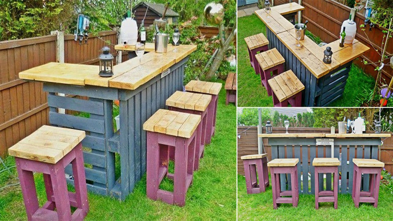 Pallet Backyard Furniture  Outdoor Furniture Made From Pallets