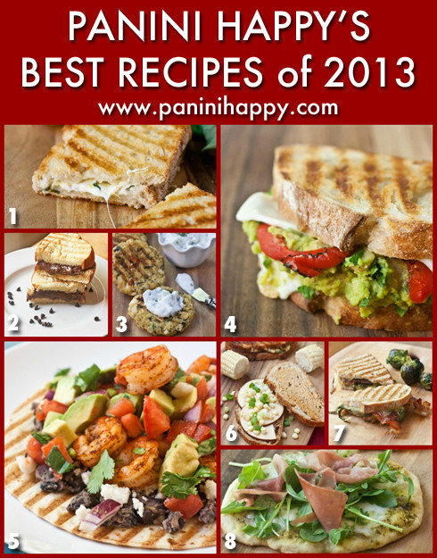Panini Press Recipes  My Best Panini Press Recipes of 2013