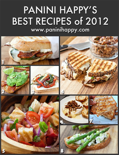 Panini Press Recipes  Panini Happy s Best Panini Recipes of 2012
