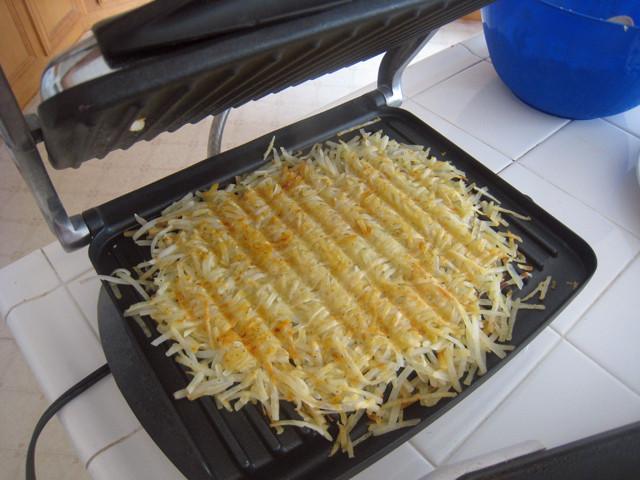 Panini Press Recipes  Tips for Preparing a Full Breakfast Panini Press Hashbrowns