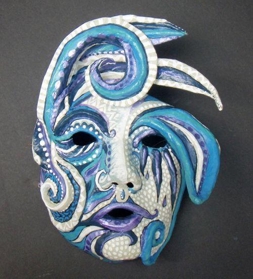 Paper Mache Mask DIY  How to Make a Paper Mache Mask DIY Pinterest