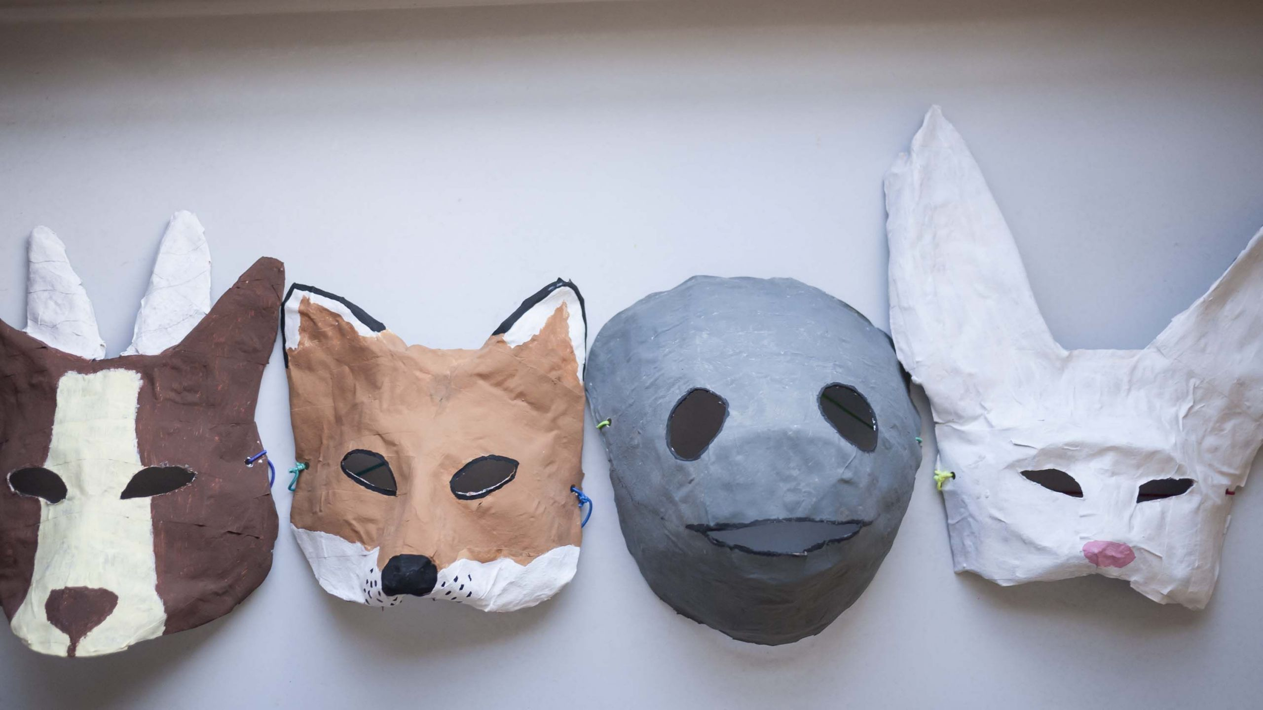Paper Mache Mask DIY  I have a really easy Halloween mask DIY for you paper