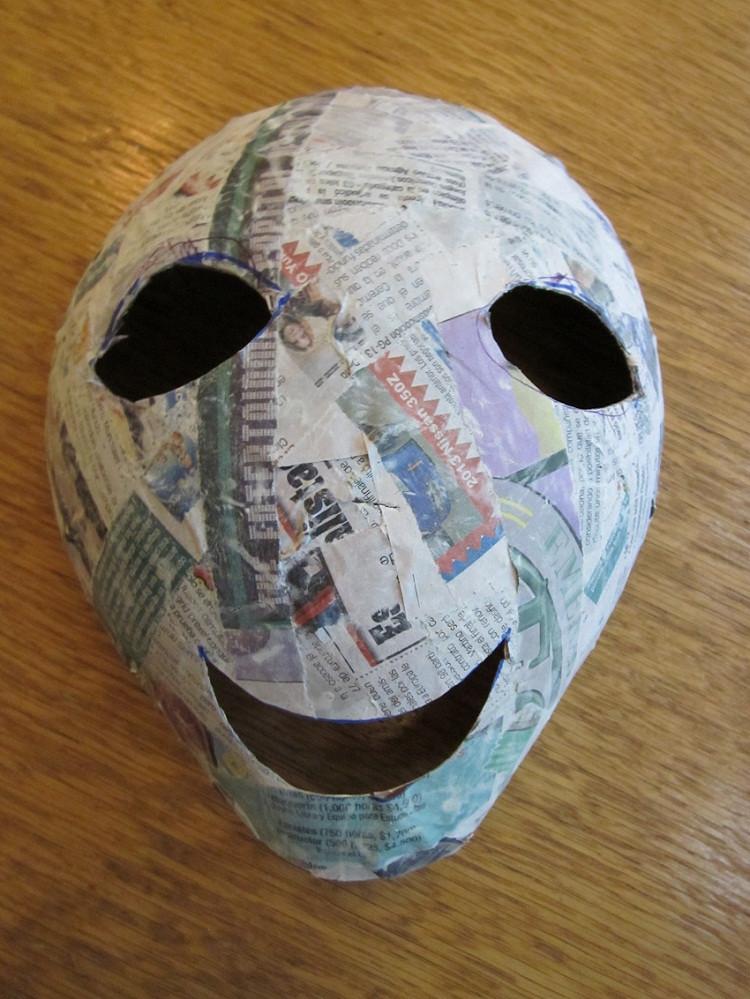 Paper Mache Mask DIY  23 Cool Paper Mache Mask Ideas