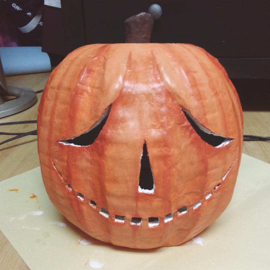 Paper Mache Mask DIY  32 Paper Mache Pumpkin DIY Craft Ideas