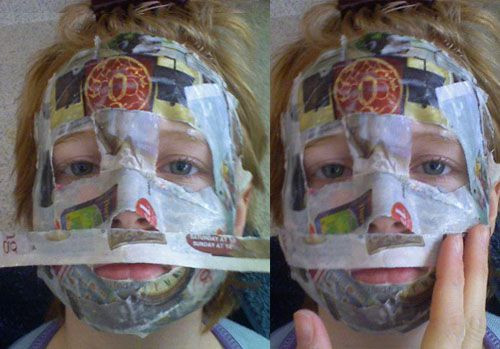 Paper Mache Mask DIY  How to Make Your Own Paper Mache Mask