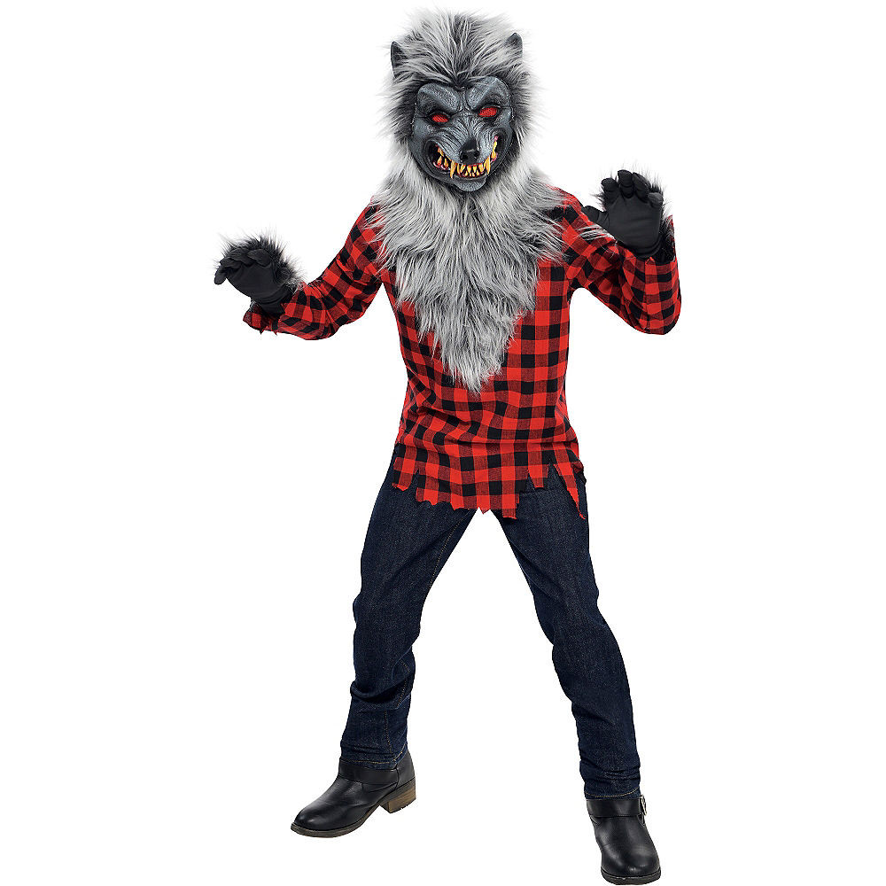 Party City Costumes Kids Boys  Boys Hungry Howler Werewolf Costume