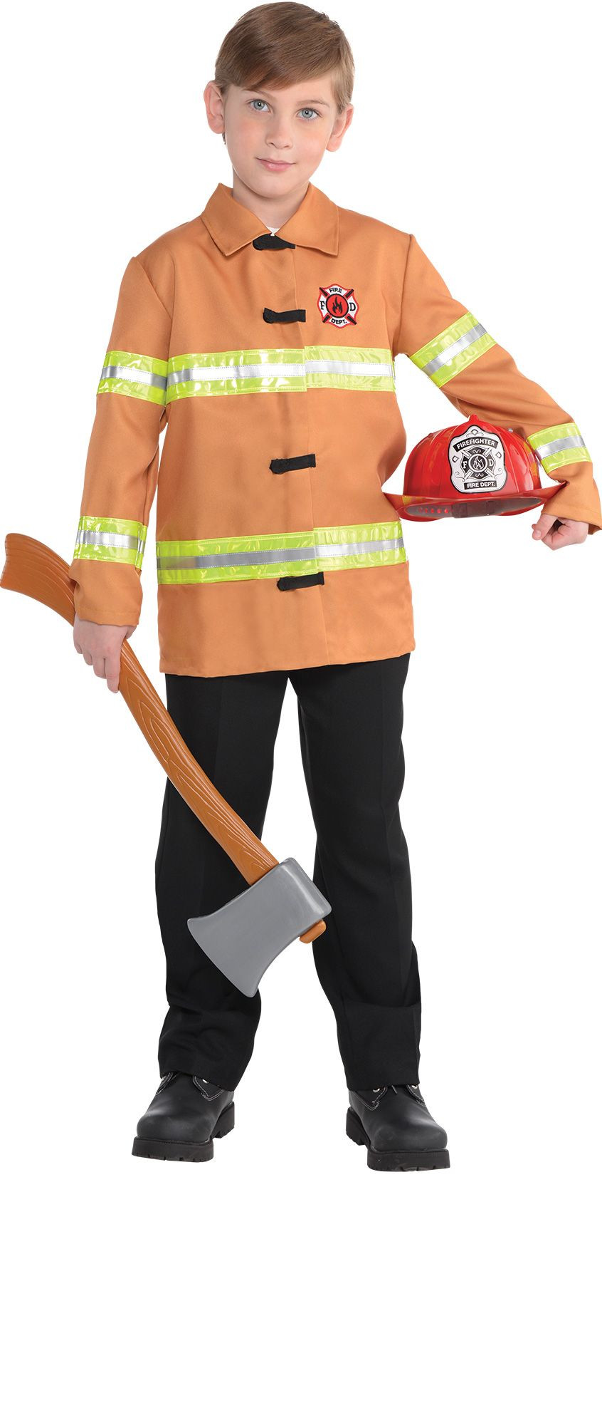 Party City Costumes Kids Boys  Boys Firefighter Costume Accessories Party City