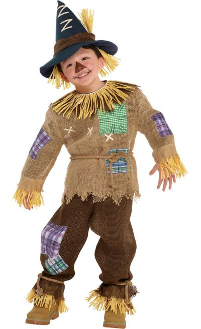 Party City Costumes Kids Boys  Toddler Boys Friendly Scarecrow Costume