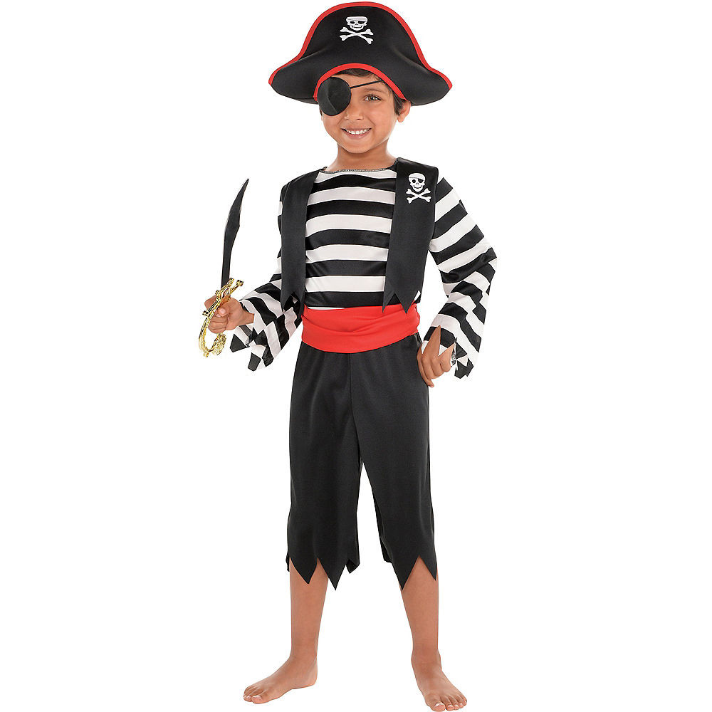 Party City Costumes Kids Boys  Toddler Boys Rascal Pirate Costume