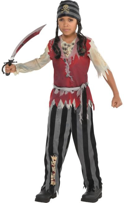 Party City Costumes Kids Boys  Boys Corpse Pirate Costume