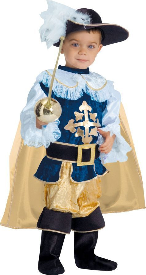 Party City Costumes Kids Boys  Toddler Boys Deluxe Musketeer Costume Party City