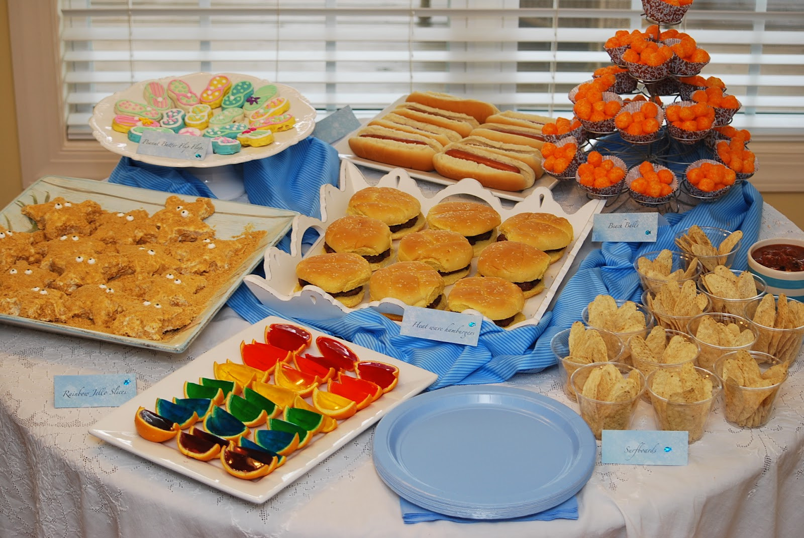 Party Food Ideas For Teenagers  My story in recipes Pool Party