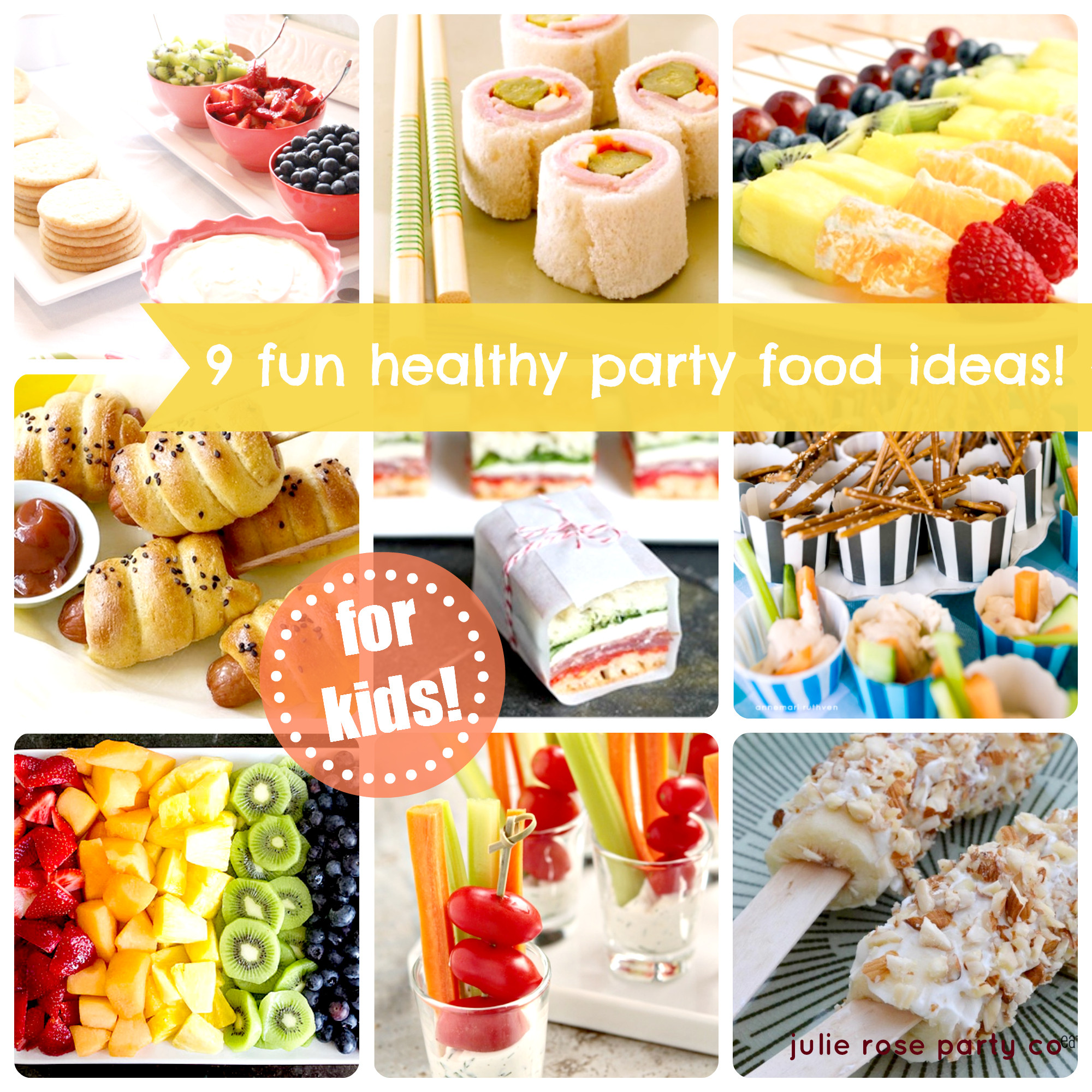 Party Food Ideas For Teenagers  9 fun and healthy party food ideas kids