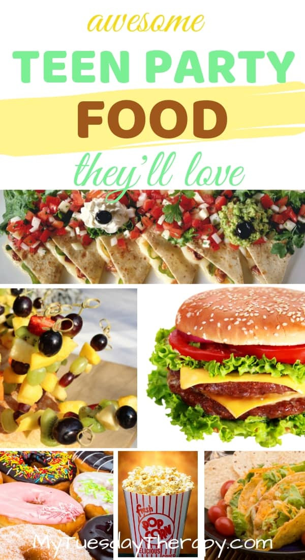 Party Food Ideas For Teenagers  Cool Teenage Birthday Party Tips themes venue food games