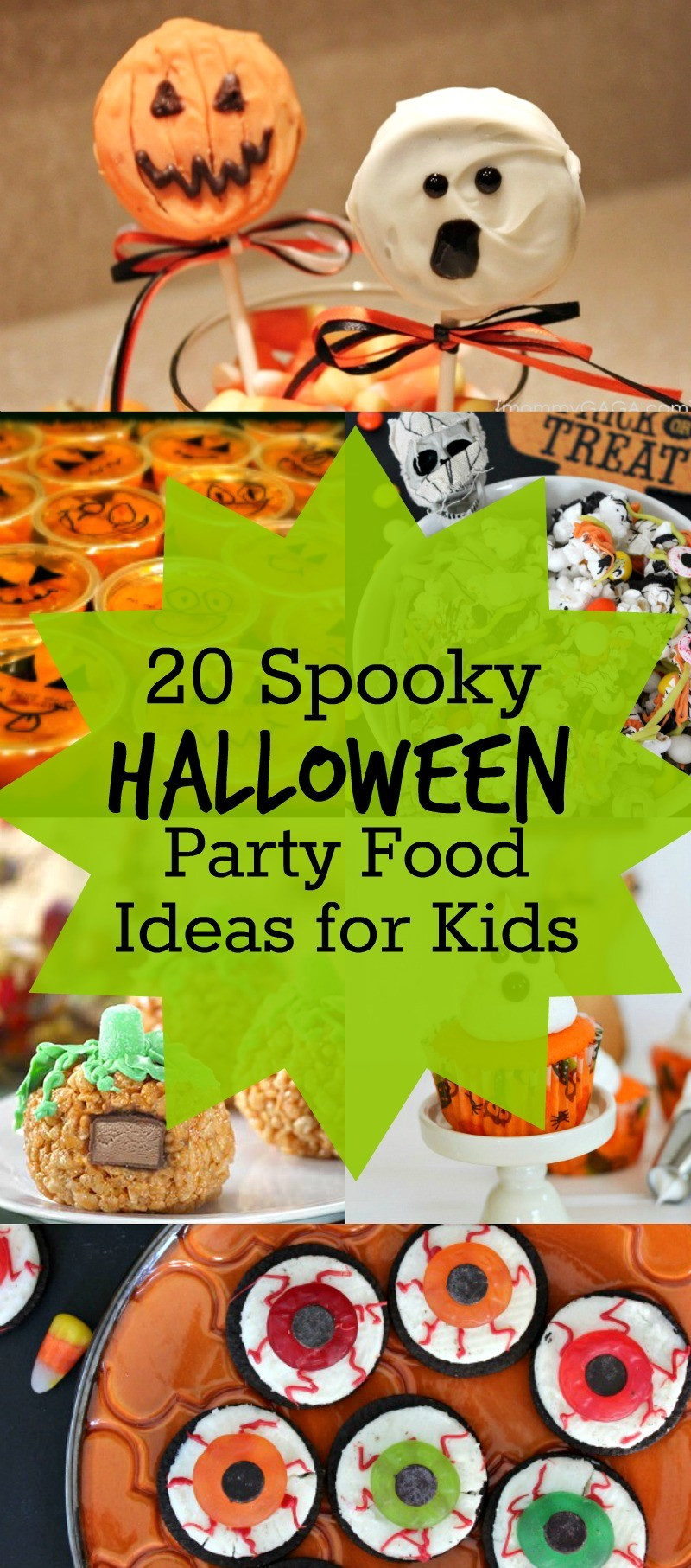 Party Food Ideas For Teenagers  20 Spooky Halloween Party Food Ideas for Kids Such cute