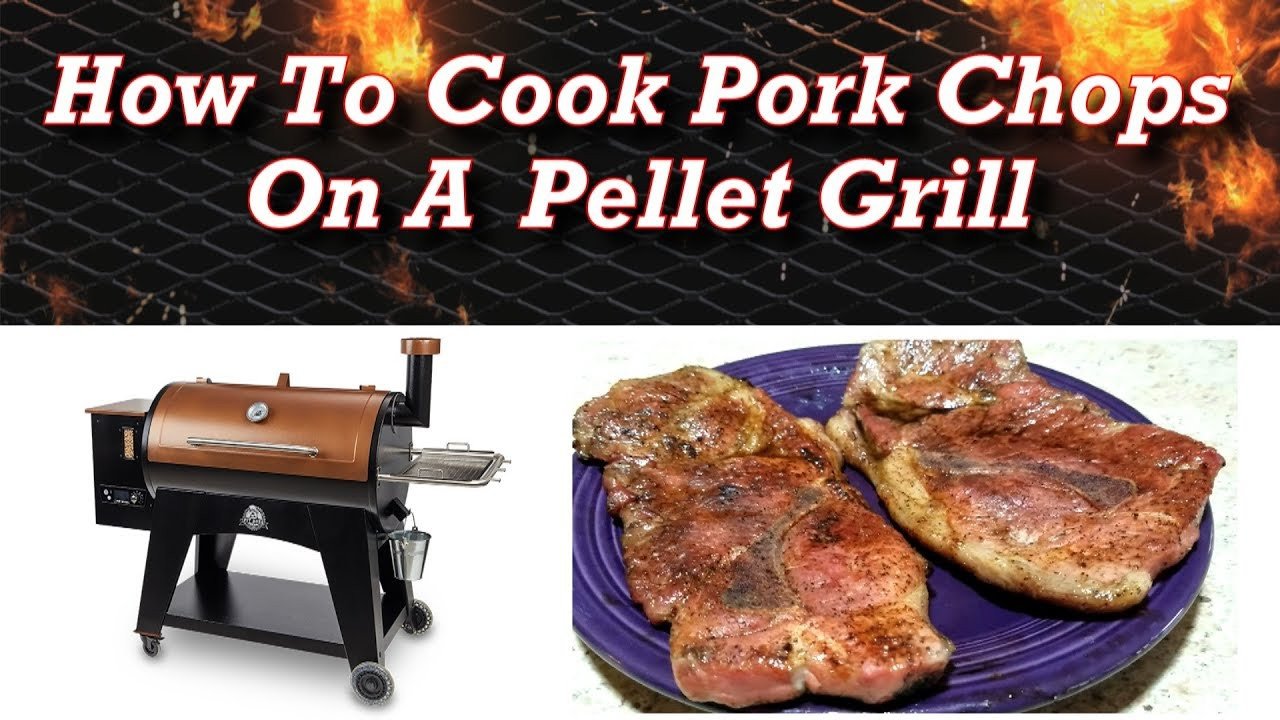 Pellet Grill Pork Chops  How To Cook Thin Cut Pork Chops A Pellet Grill Pit