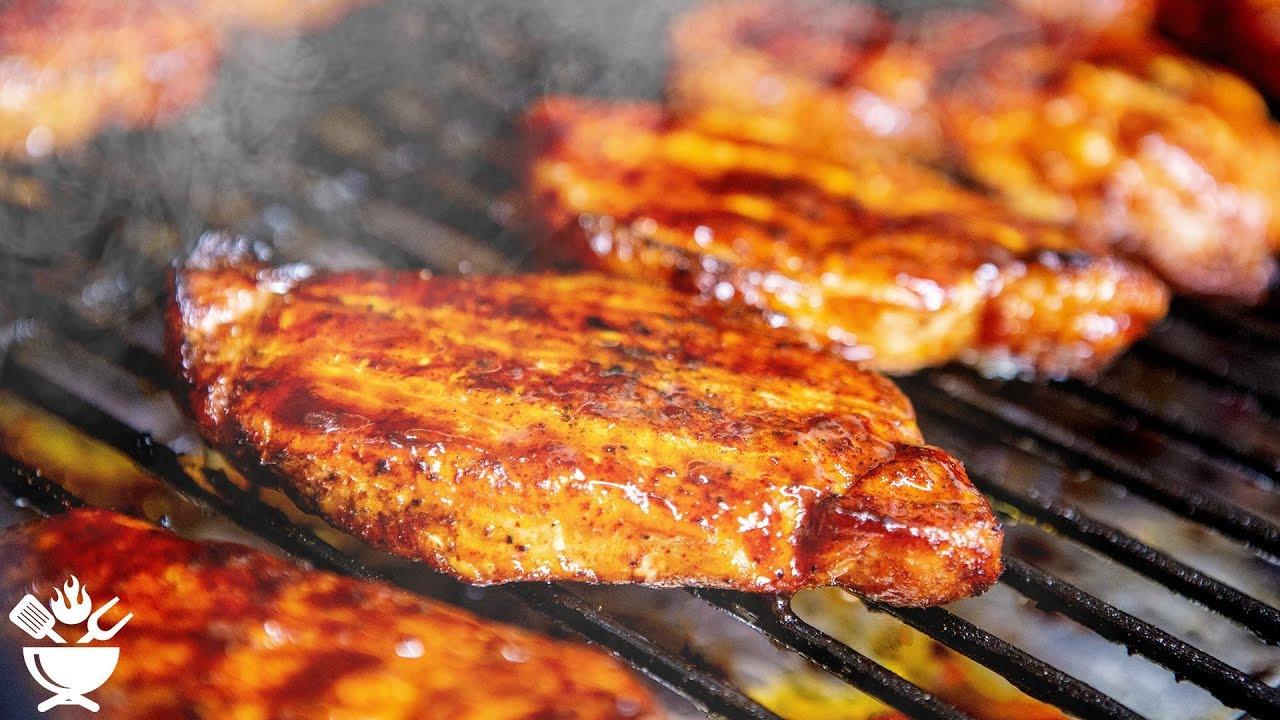 Pellet Grill Pork Chops  Smoked Pork Chops Pellet Grill