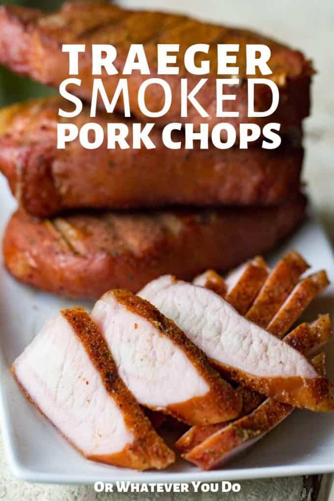 Pellet Grill Pork Chops  Traeger Smoked Pork Chops
