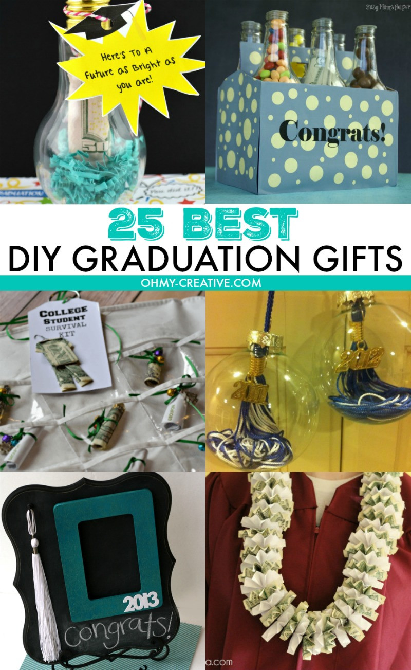 Phd Graduation Gift Ideas For Him  25 Best DIY Graduation Gifts Oh My Creative