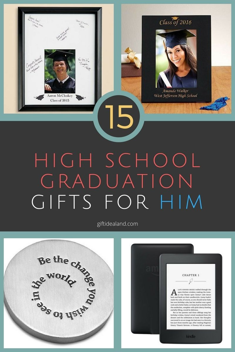 Phd Graduation Gift Ideas For Him  15 Great High School Graduation Gift Ideas For Him