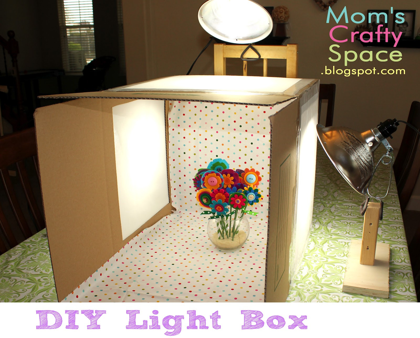 Photo Light Box DIY  DIY Light Box Happiness is Homemade