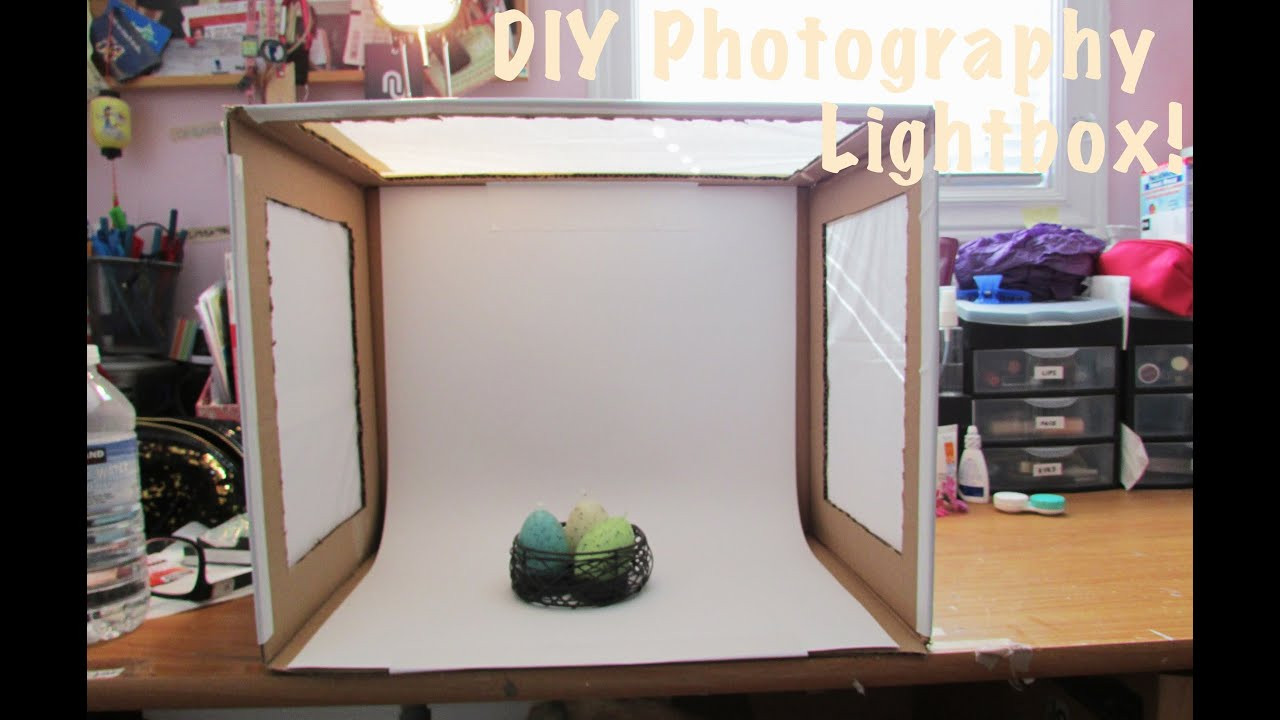 Photo Light Box DIY  How To DIY Light Box