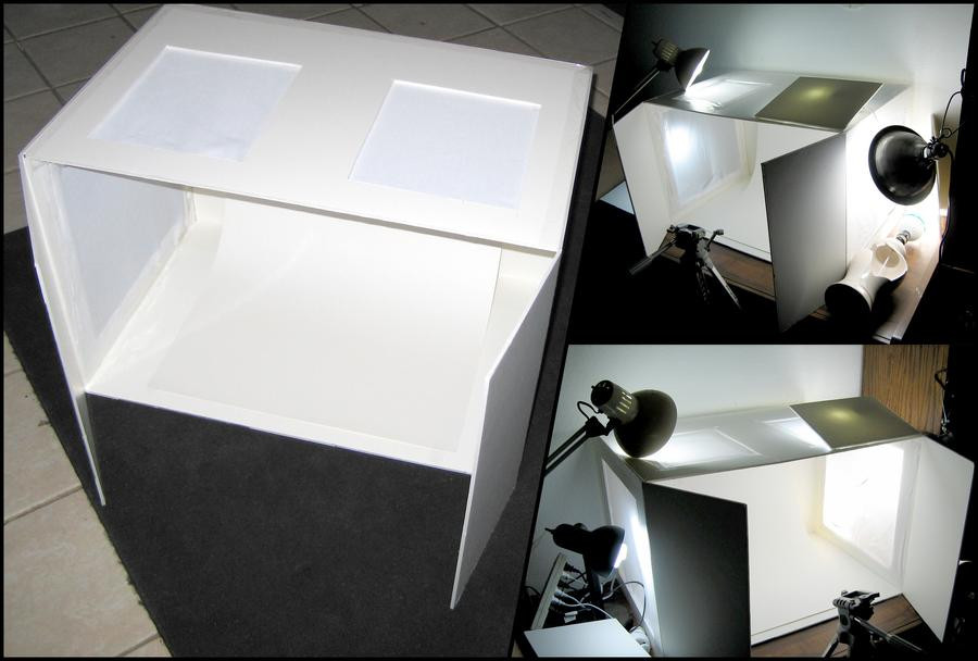 Photo Light Box DIY  DIY Light Box Setup by Azmal on DeviantArt
