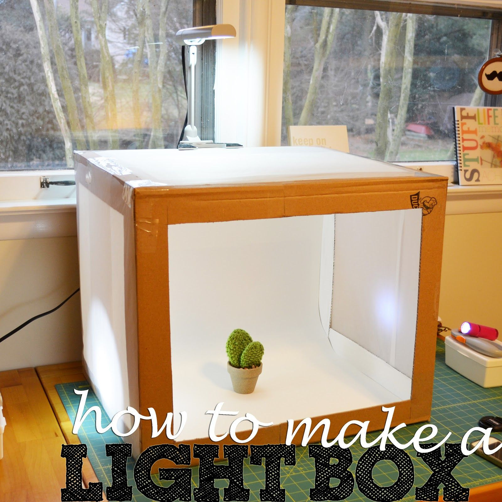 Photo Light Box DIY  light box