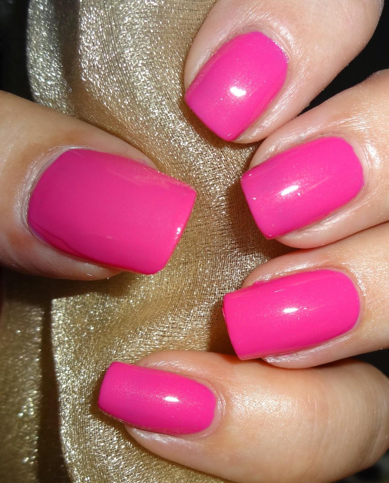 Pink Nail Colors  Wendy s Delights Beauty UK Nail Polish Pink Lemonade