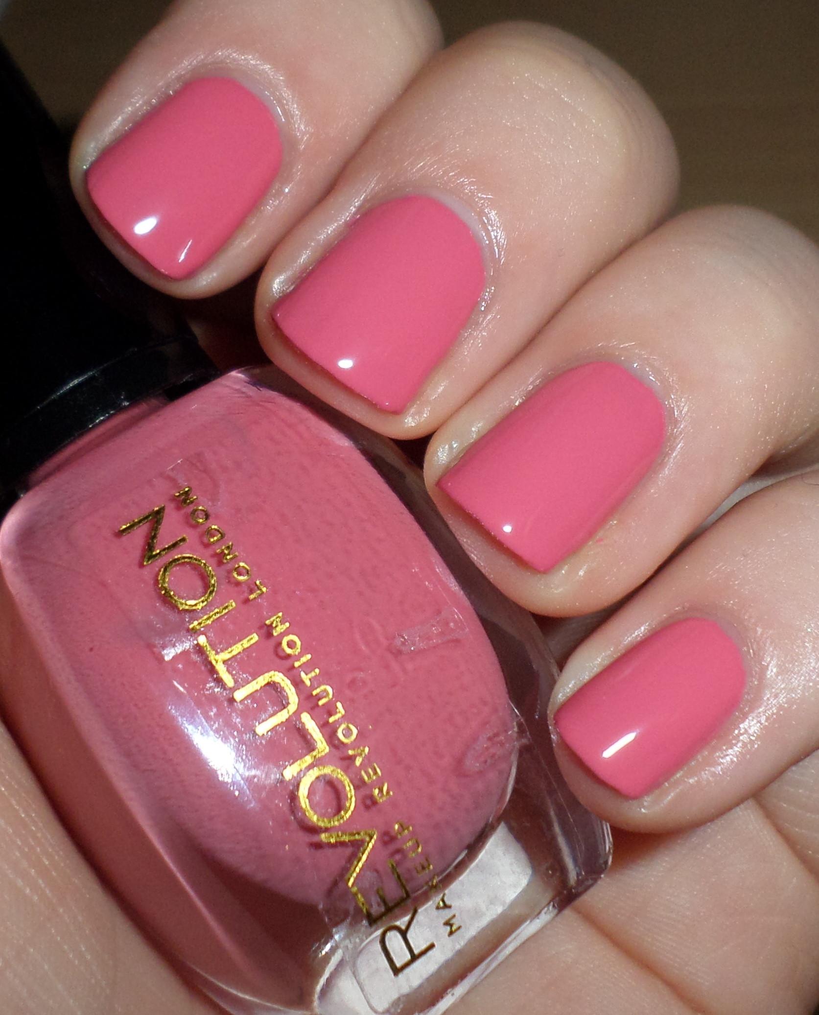 Pink Nail Colors  pink nail polish – RaRa Reid