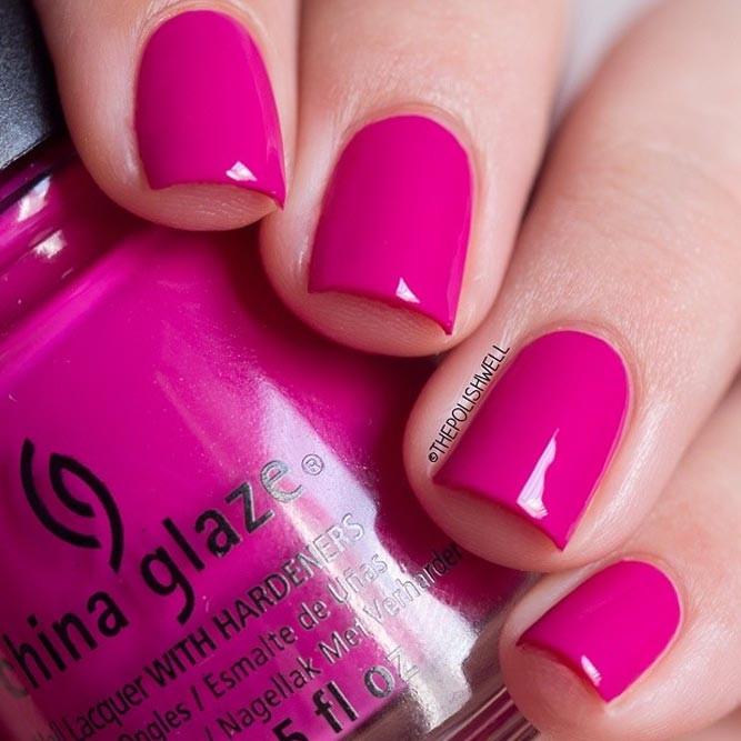 Pink Nail Colors  21 Ways To Pull f Pink Nail Polish