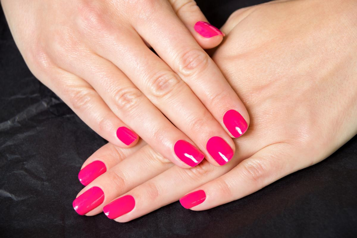 Pink Nail Colors  This is How You Can Get Rid of Bubbles in Nail Polish