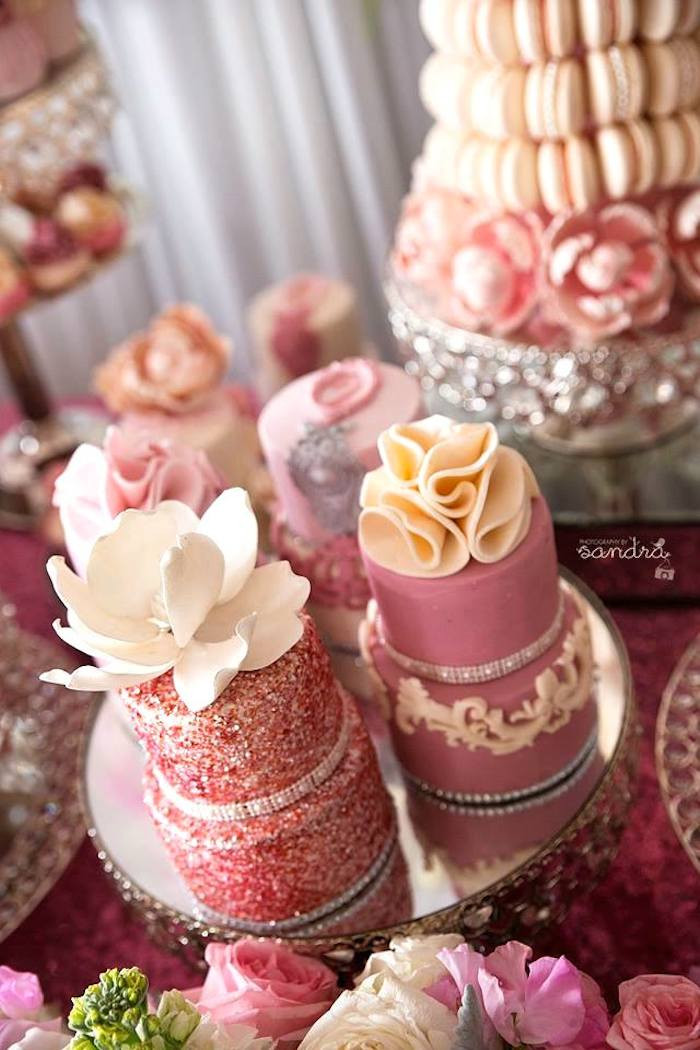 Pink Party Food Ideas  Kara s Party Ideas Pink Floral Princess birthday party