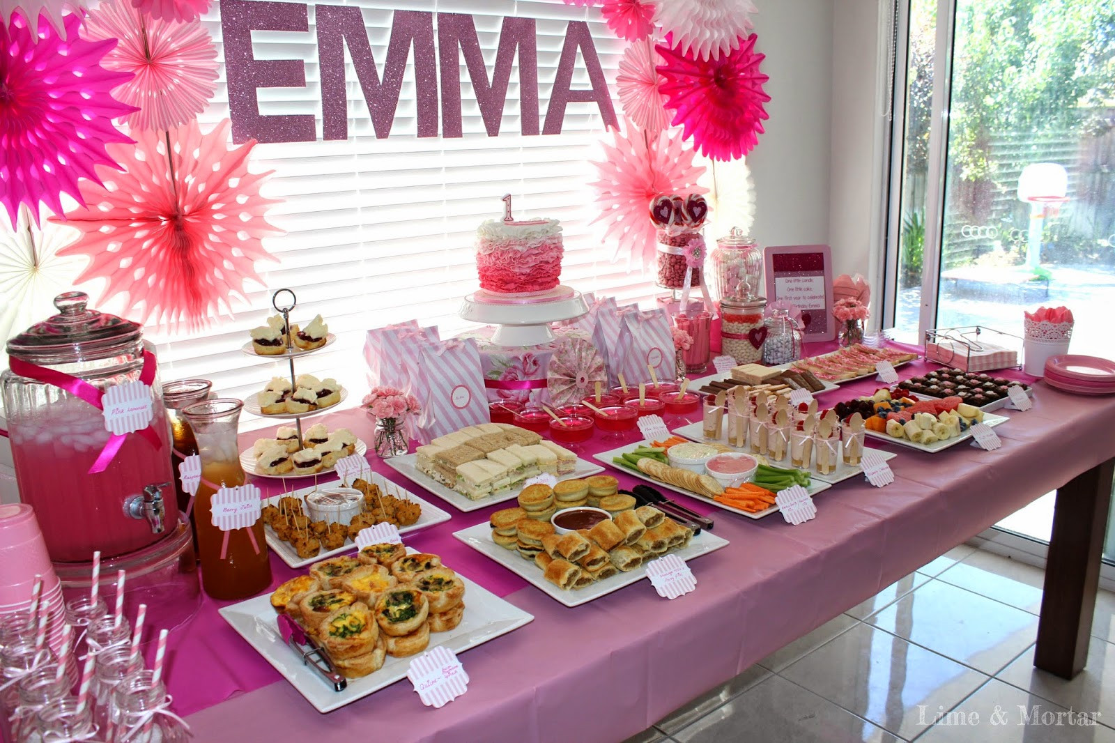 Pink Party Food Ideas  Lime & Mortar Kids Parties Pink Party