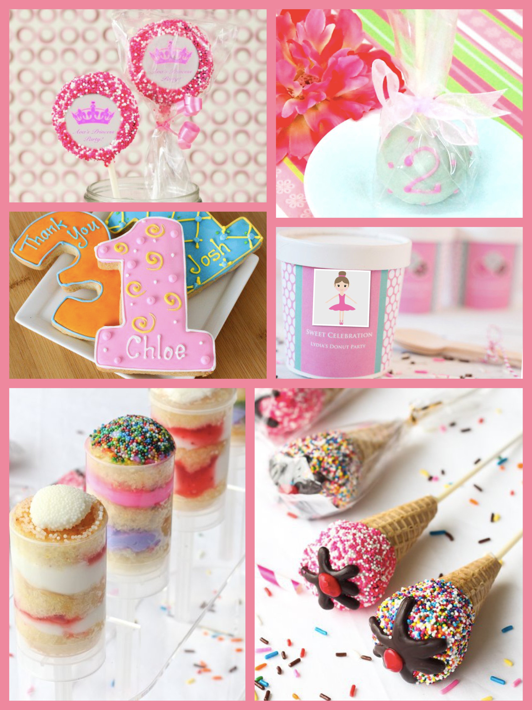 Pink Party Food Ideas  Pink Ballerina Tutu Party Planning Ideas & Supplies
