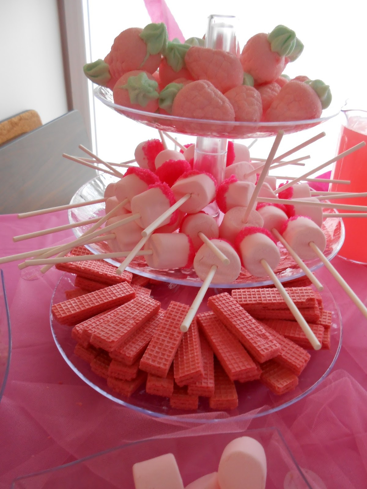 Pink Party Food Ideas  Teach Academy Zoe s Pinkalicious Birthday Party