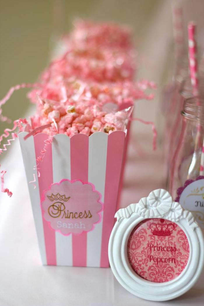 Pink Party Food Ideas  Kara s Party Ideas Pink Gold Princess themed birthday