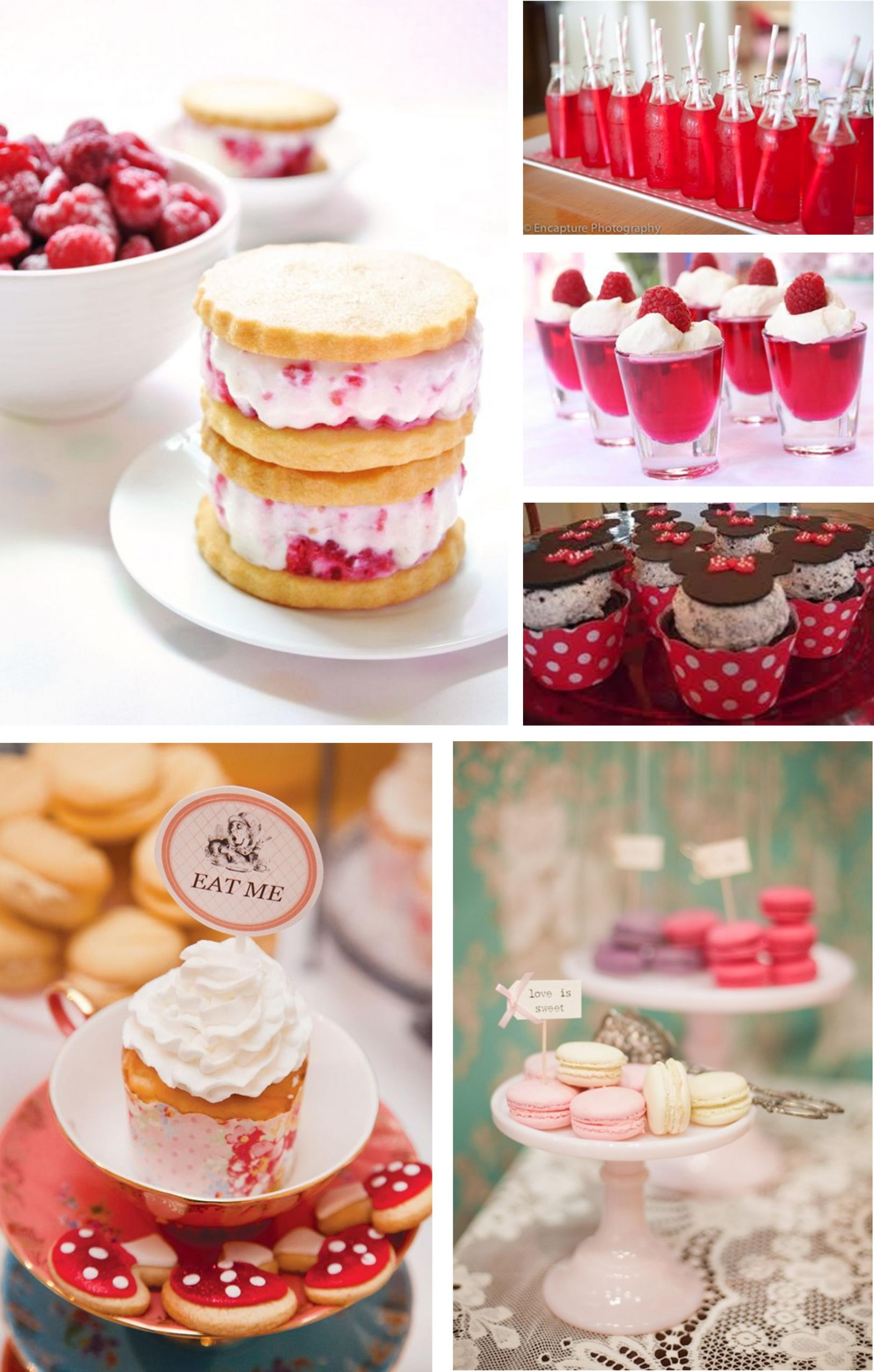 Pink Party Food Ideas  My little vintage caravan Pink party food ideas