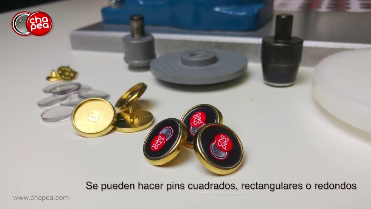 Pins Como Hacer  ¿Cómo hacer pins personalizados Kit pleto para