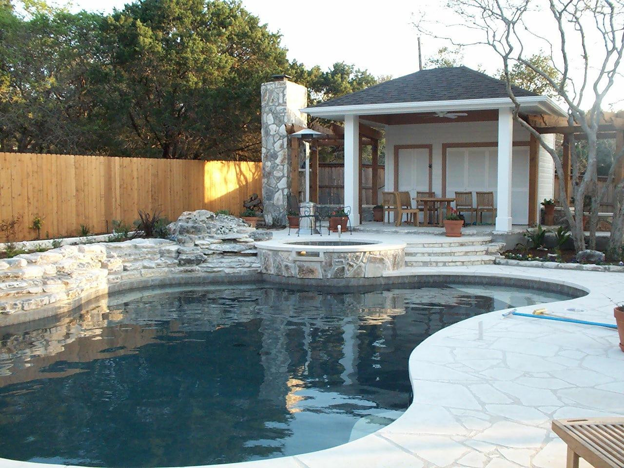 Pool With Outdoor Kitchen  Outdoor Kitchens Westview Pools